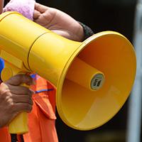 toxic culture megaphone